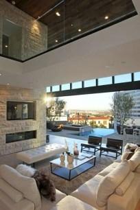 Inspiring living room wall design ideas 22