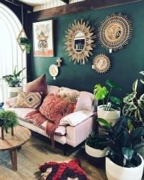 Inspiring living room wall design ideas 31