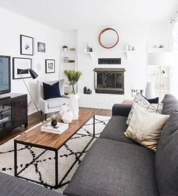 Inspiring living room wall design ideas 54