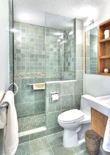 Inspiring small bathroom design ideas in apartment 12