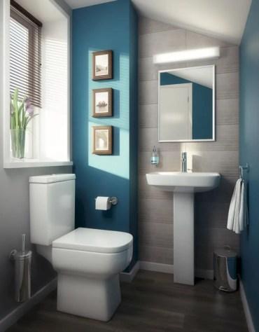 Inspiring small bathroom design ideas in apartment 14
