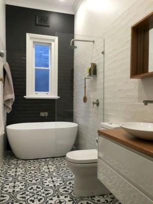 Inspiring small bathroom design ideas in apartment 25