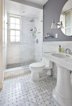 Inspiring small bathroom design ideas in apartment 27