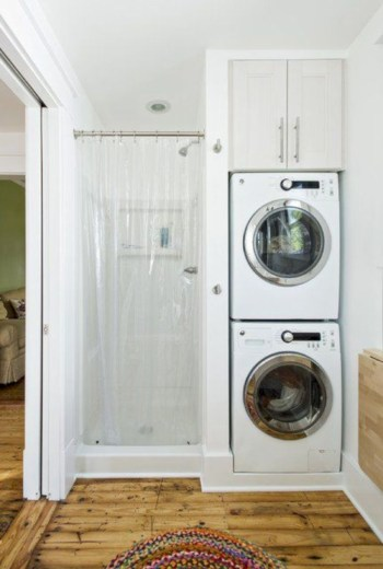 Inspiring small bathroom design ideas in apartment 43