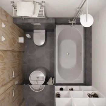 Inspiring small bathroom design ideas in apartment 44