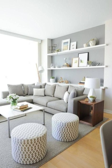 Livingroom design ideas to make look confortable for guest 05