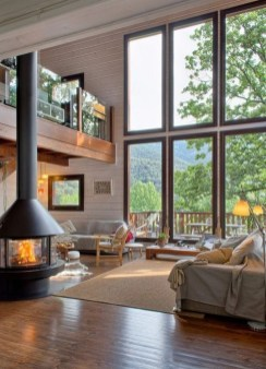 Livingroom design ideas to make look confortable for guest 17
