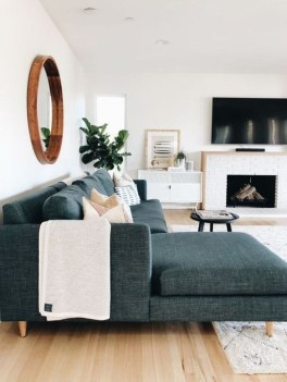 Livingroom design ideas to make look confortable for guest 23