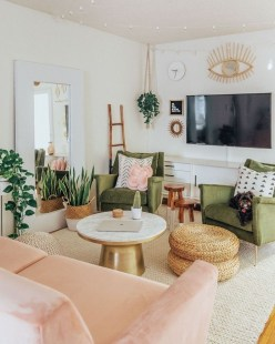 Livingroom design ideas to make look confortable for guest 31