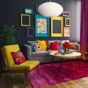 Livingroom design ideas to make look confortable for guest 34