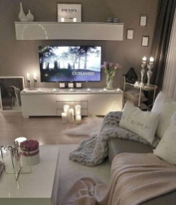 Livingroom design ideas to make look confortable for guest 46