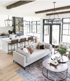 Livingroom design ideas to make look confortable for guest 53