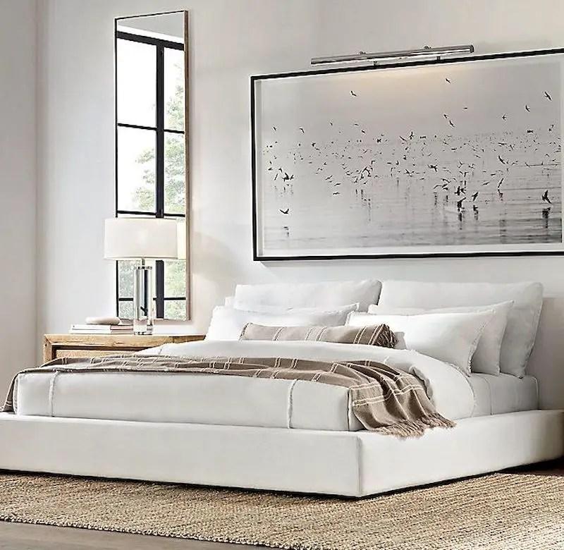 Luxury bedroom design ideas with goose feather 07