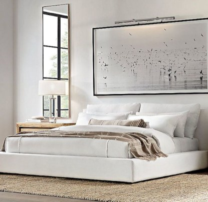 Luxury bedroom design ideas with goose feather 07
