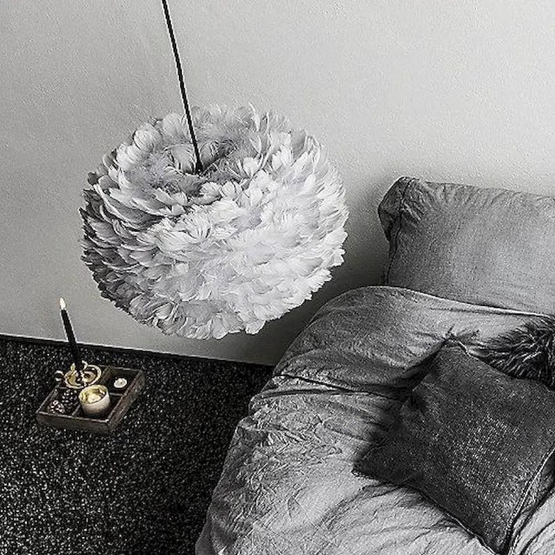 Luxury bedroom design ideas with goose feather 10