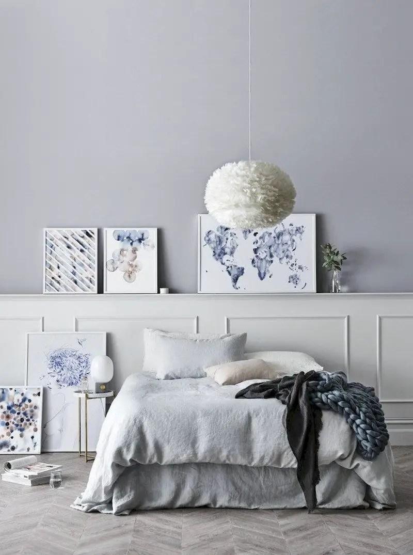 Luxury bedroom design ideas with goose feather 28