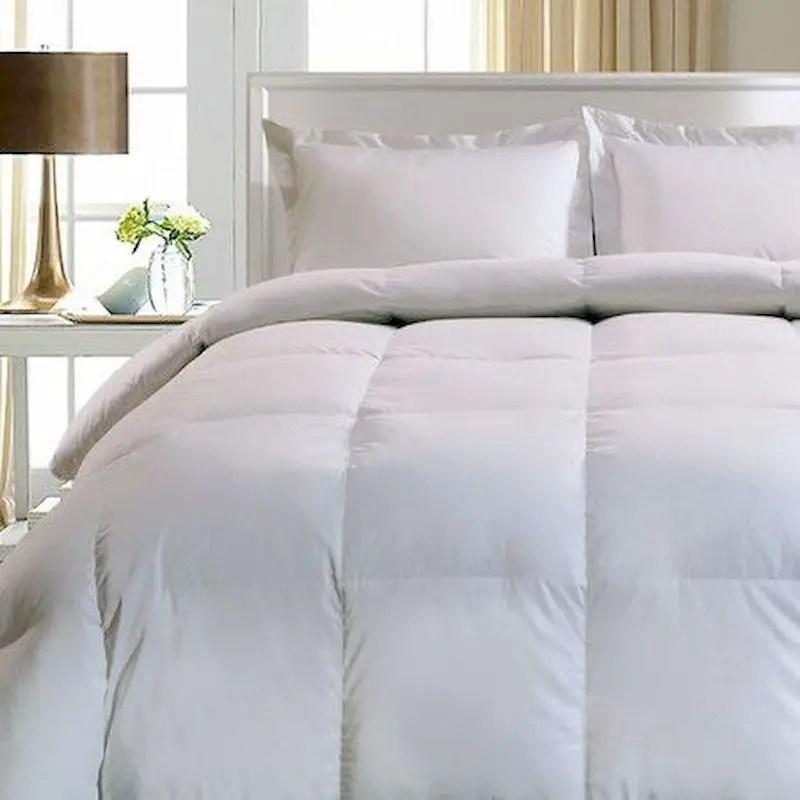 Luxury bedroom design ideas with goose feather 30