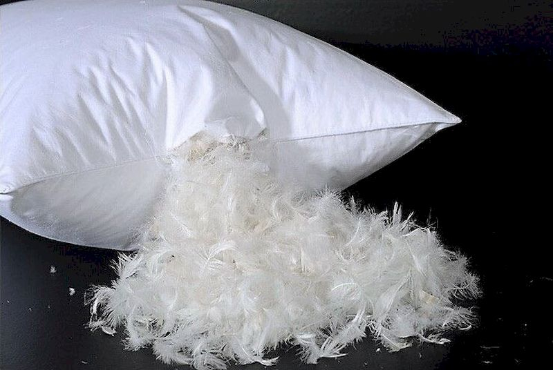 Luxury bedroom design ideas with goose feather 33