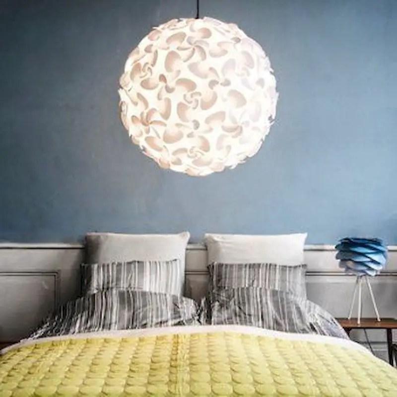Luxury bedroom design ideas with goose feather 35