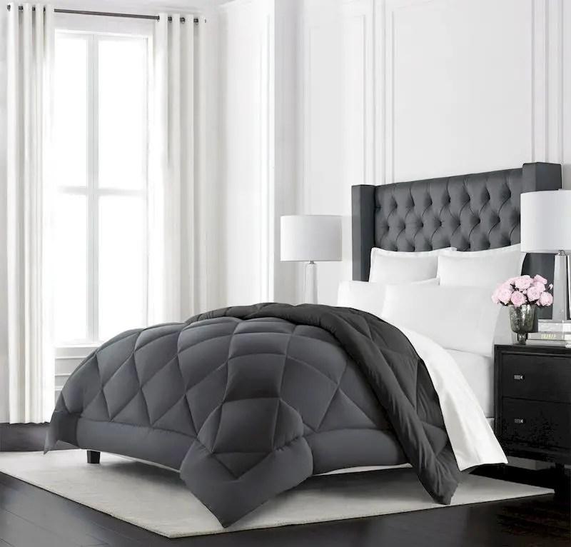 Luxury bedroom design ideas with goose feather 36