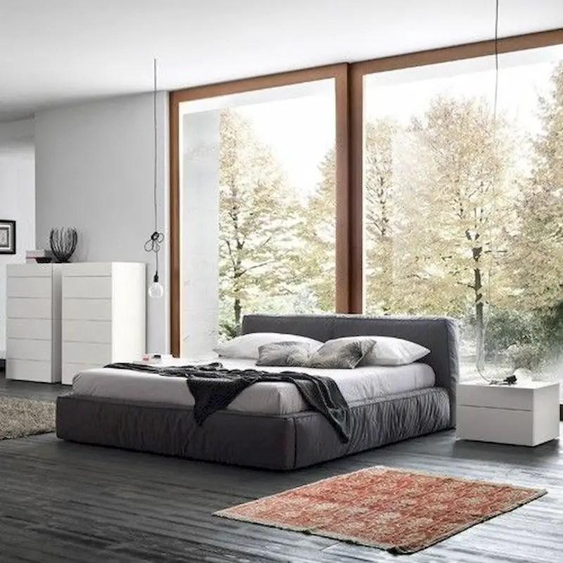 Luxury bedroom design ideas with goose feather 44