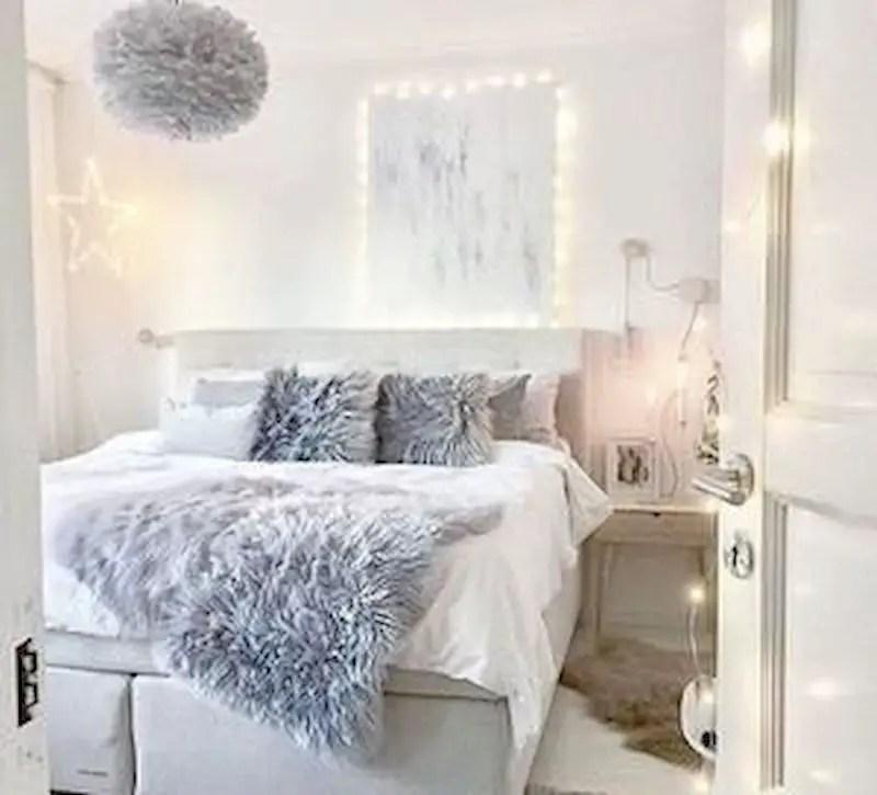 Luxury bedroom design ideas with goose feather 45