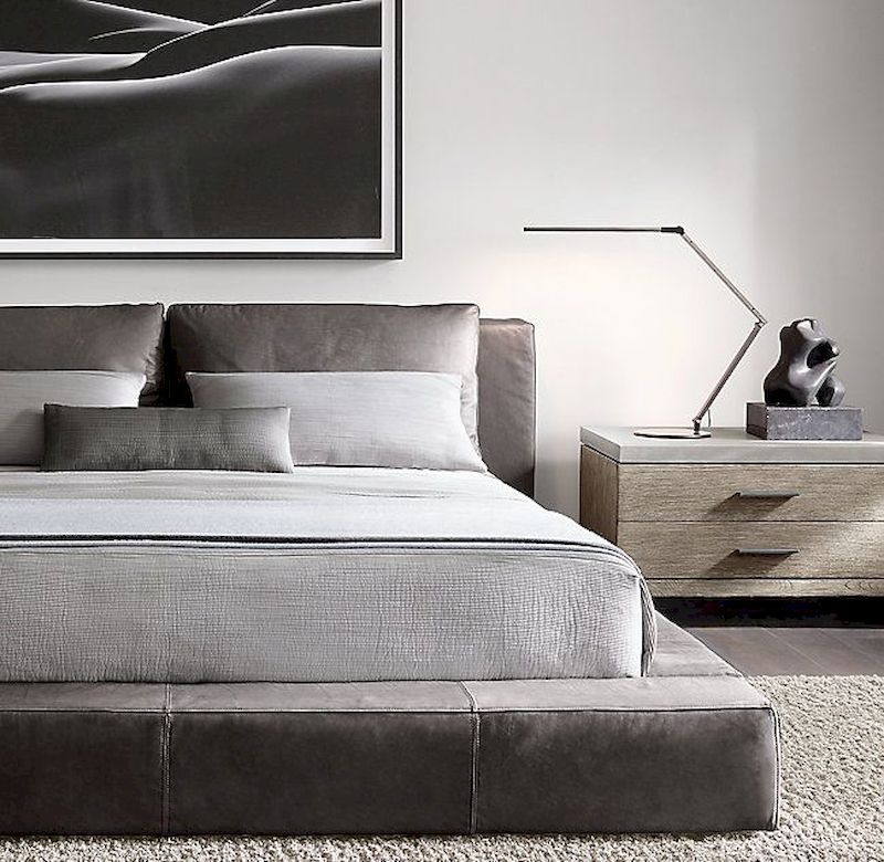 Luxury bedroom design ideas with goose feather 51