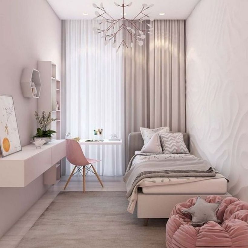 Romantic bedroom decorating ideas in your apartment 25
