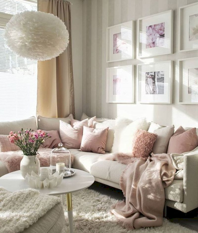 Spring living room design ideas that you can copy right now 11