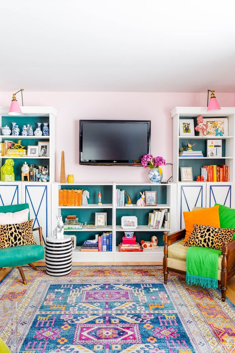 Spring living room design ideas that you can copy right now 23