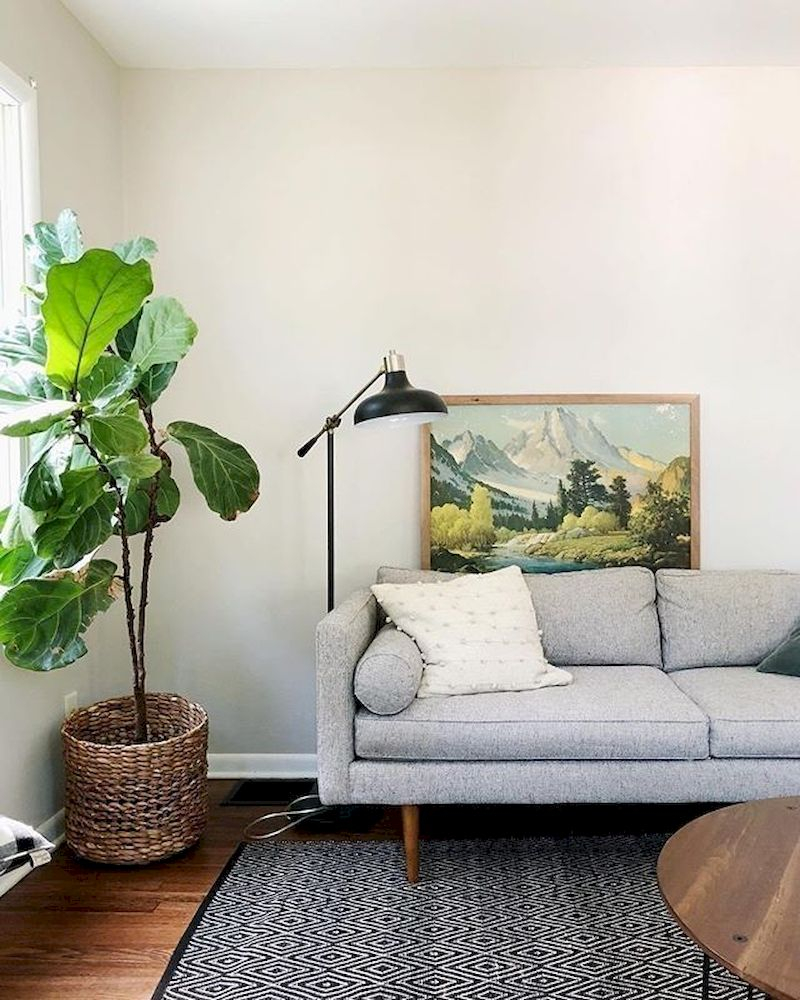 Spring living room design ideas that you can copy right now 27