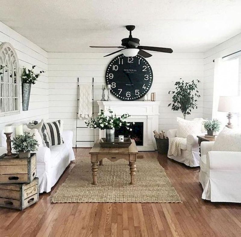 Spring living room design ideas that you can copy right now 36