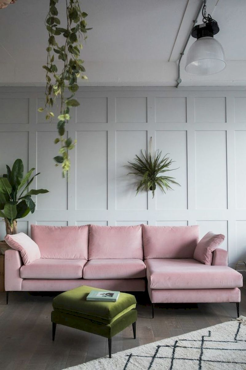 Spring living room design ideas that you can copy right now 39
