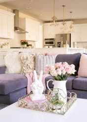 Spring living room design ideas that you can copy right now 47