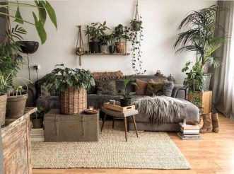 Spring living room design ideas that you can copy right now 50