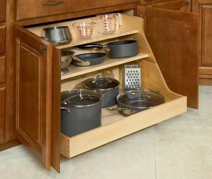 The best kitchen appliance storage rack design ideas 05