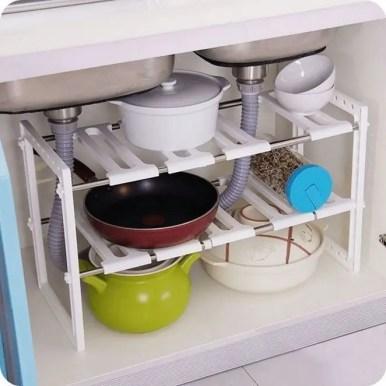 The best kitchen appliance storage rack design ideas 07