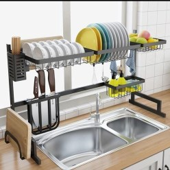 The best kitchen appliance storage rack design ideas 08