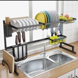 The best kitchen appliance storage rack design ideas 08