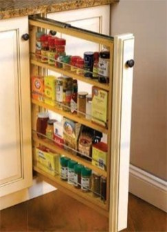 The best kitchen appliance storage rack design ideas 14