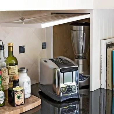 The best kitchen appliance storage rack design ideas 22