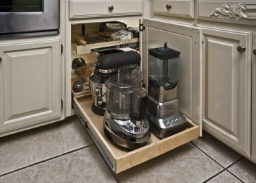 The best kitchen appliance storage rack design ideas 23