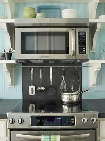 The best kitchen appliance storage rack design ideas 40