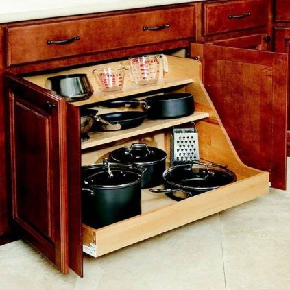 The best kitchen appliance storage rack design ideas 44
