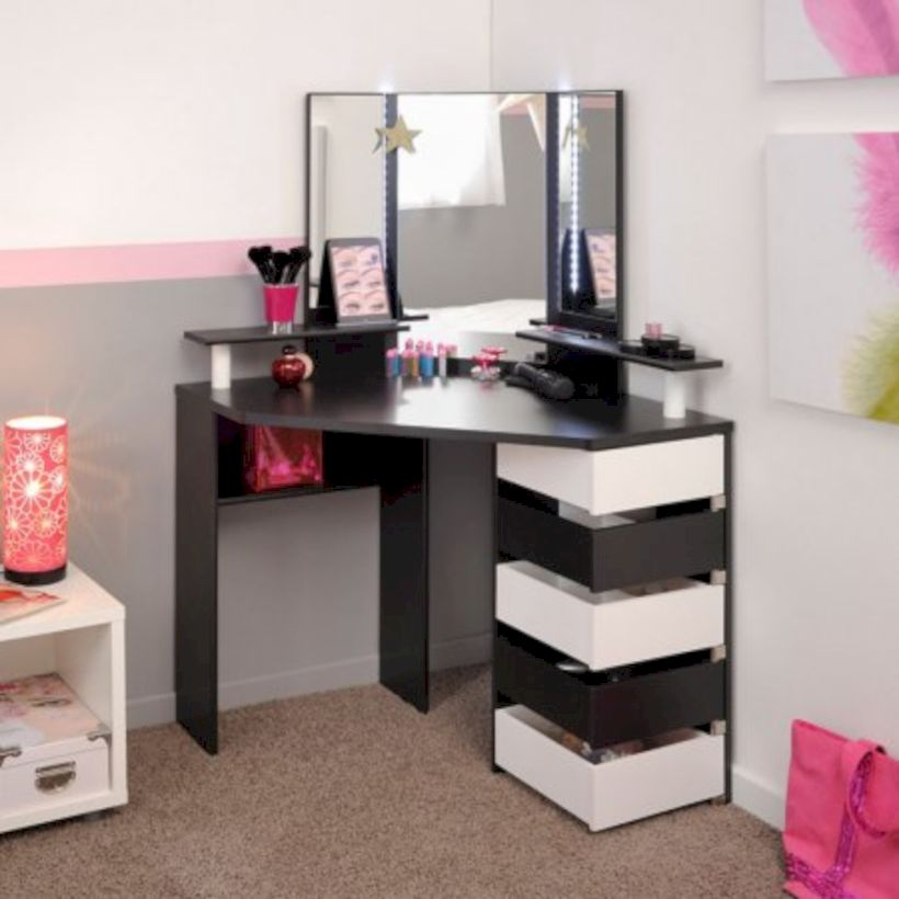 The best makeup table design ideas that you must copy right now 03