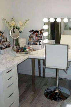 The best makeup table design ideas that you must copy right now 12