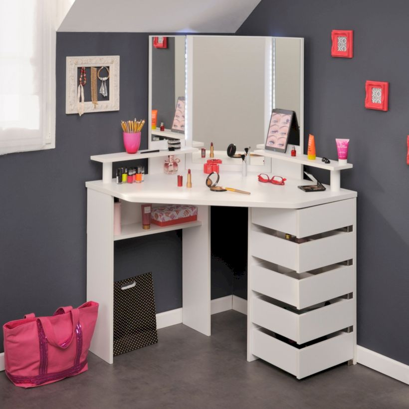 The best makeup table design ideas that you must copy right now 15