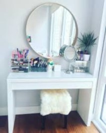 The best makeup table design ideas that you must copy right now 27
