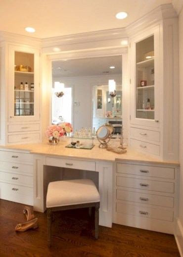 The best makeup table design ideas that you must copy right now 37