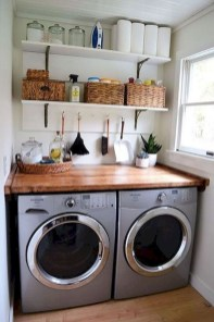 Trend small laundry room design ideas that you can try 05